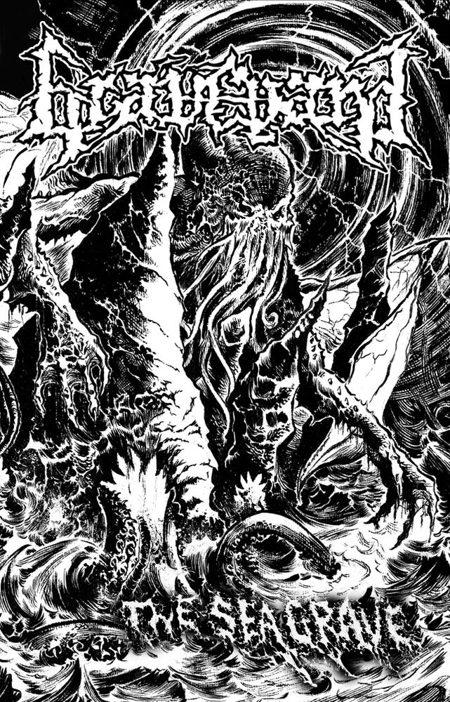 Graveyard - The Sea Grave (Tape)