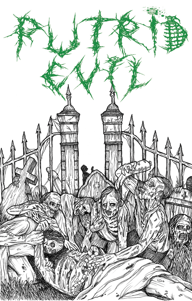 PutridEvil - Massgrave Overtortures (Tape)