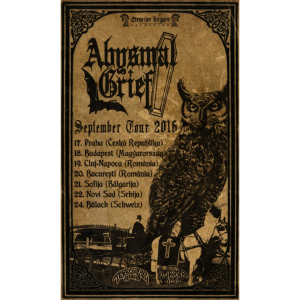 Abysmal Grief - Tour 2016