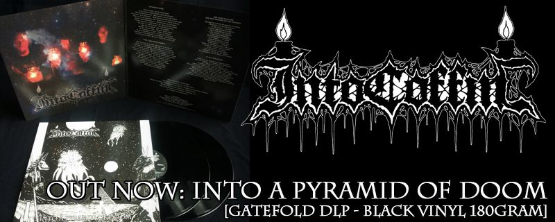 "INTO COFFIN ""Into A Pyramid Of Doom"" Gatefold DLP – OUT NOW!"