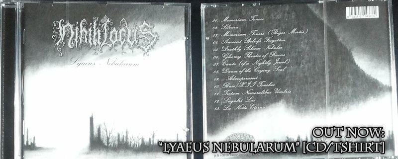 """NIHILI LOCUS """"Lyaeus Nebularum"""" CD – OUT NOW"""