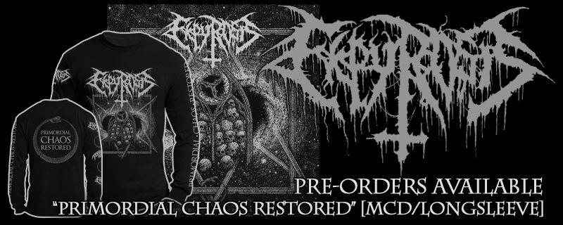 "EKPYROSIS ""Primordial Chaos Restored"" MCD – PRE-ORDERS AVAILABLE"