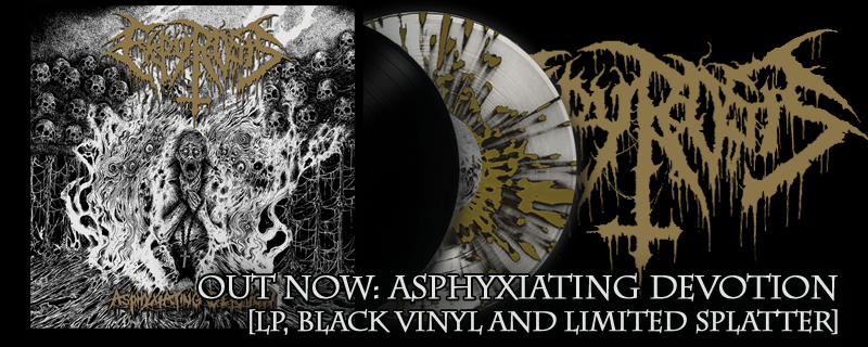 "EKPYROSIS ""Asphyxiating Devotion"" LP – OUT NOW!!"