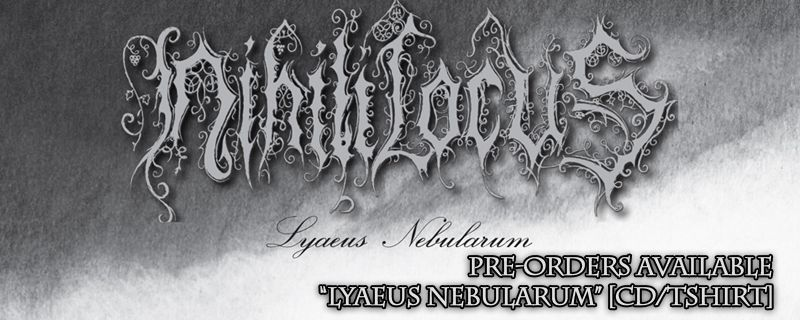 "NIHILI LOCUS ""Lyaeus Nebularum"" CD – PRE-ORDERS AVAILABLE"
