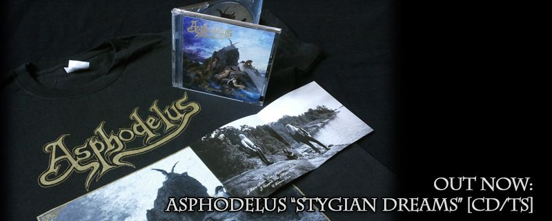 ASPHODELUS 'Stygian Dreams' CD – OUT NOW