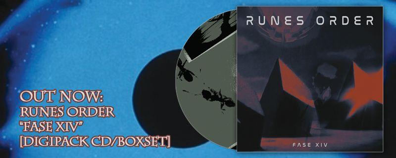 RUNES ORDER 'Fase XIV' Digipack CD/Boxset – OUT NOW