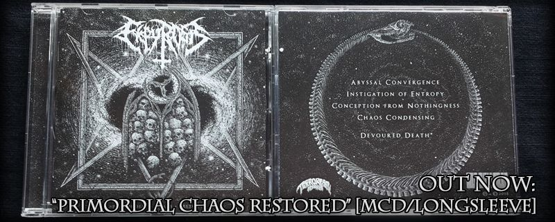 "EKPYROSIS ""Primordial Chaos Restored"" MCD – OUT NOW!!"