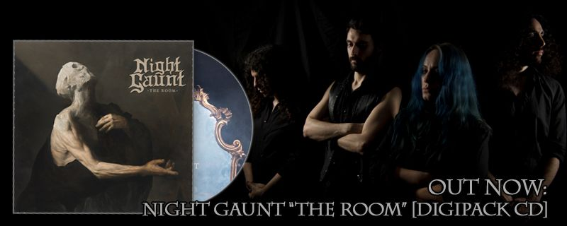"NIGHT GAUNT ""The Room"" Digipack CD – OUT NOW"