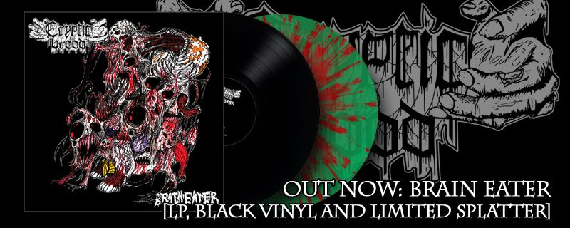 "CRYPTIC BROOD ""Brain Eater""LP – OUT NOW!"